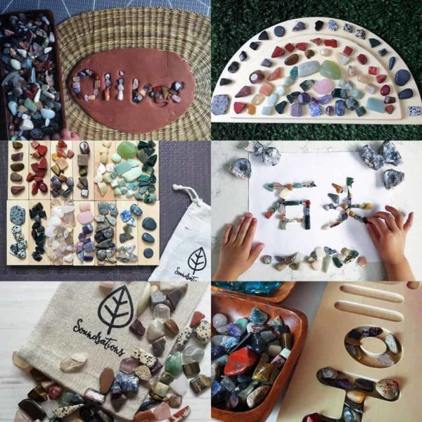 Discovery Kit / Crystals and gems / Nature Play