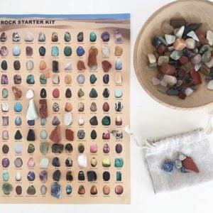 Rock Starter Kit / Crystal Discovery Kit