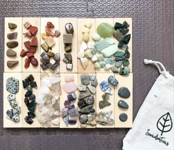 Gem Discovery Kit with poster / Kids Rocks