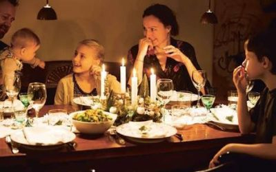 Creating Calm Dinner Time Rituals with Young Children