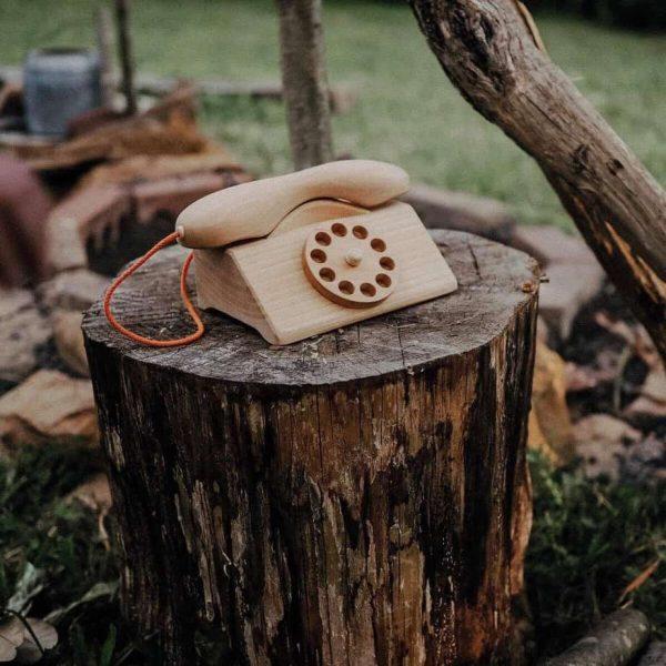 Wooden Telephone
