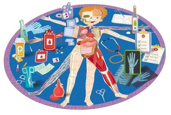 Human Body Puzzle