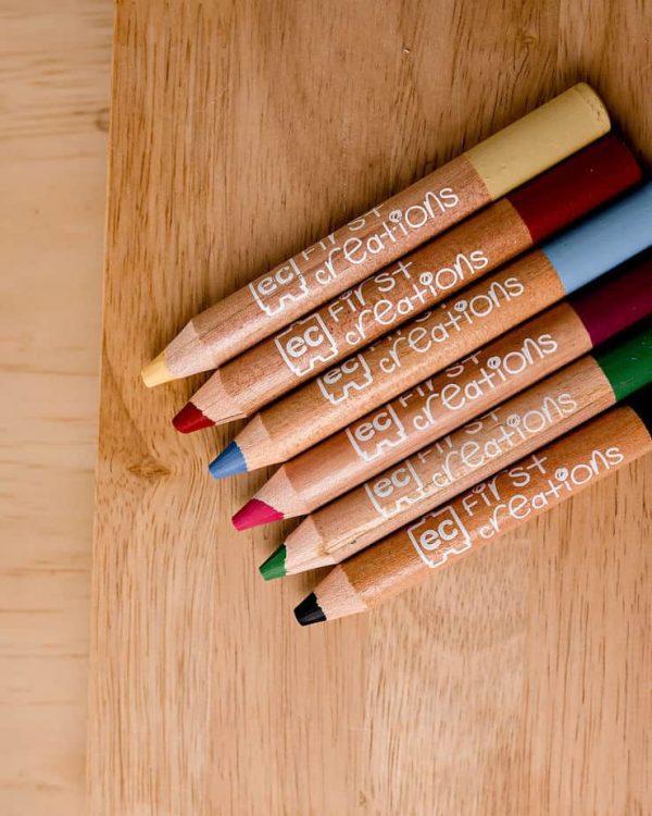 crayon Pencils - Packet of 6