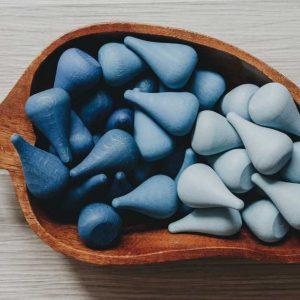 blue shade Grapat Mandala