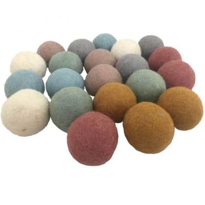 colorful Felt Balls