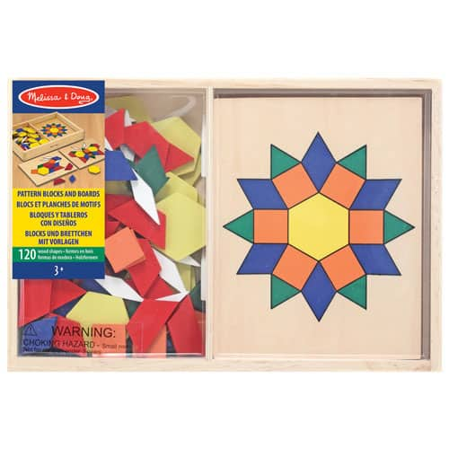 Pattern Blocks and Boards for kids
