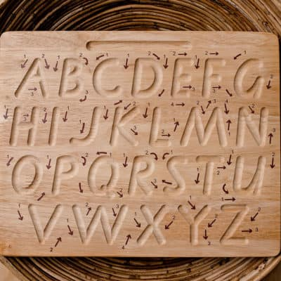 Uppercase Tracing Board