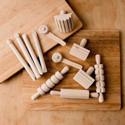 Wooden Dough Tools Toys