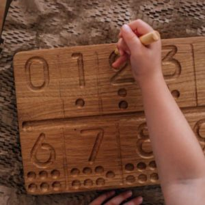 Number Tracing Board with pencil