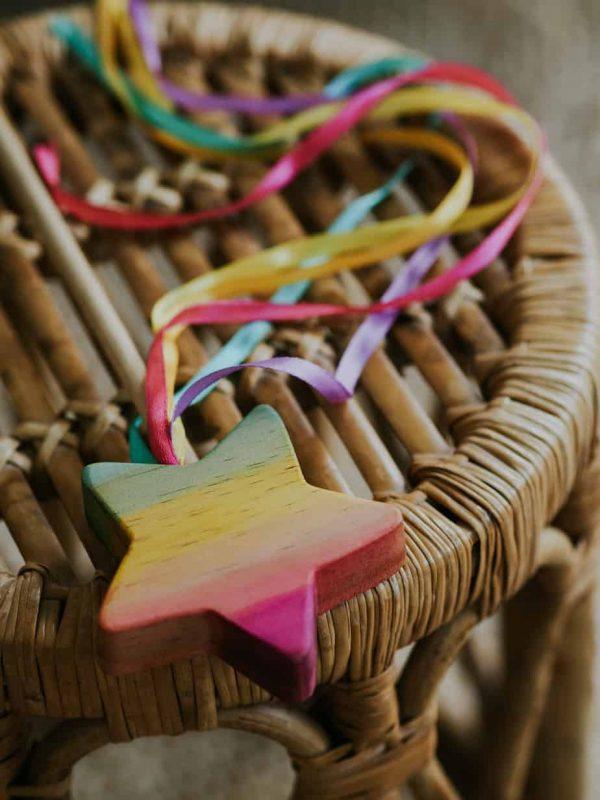 beautiful Rainbow Wand