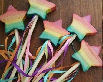 Rainbow Wand playing toys