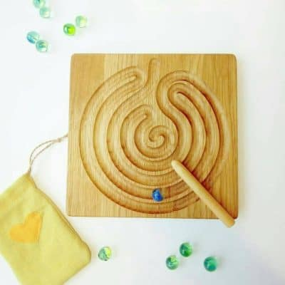 wooden Labyrinth Board