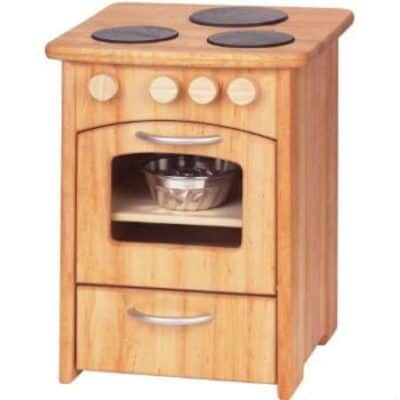 Wooden Play Kitchen Oven