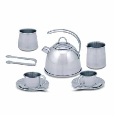 Stainless Steel Tea Set for playing