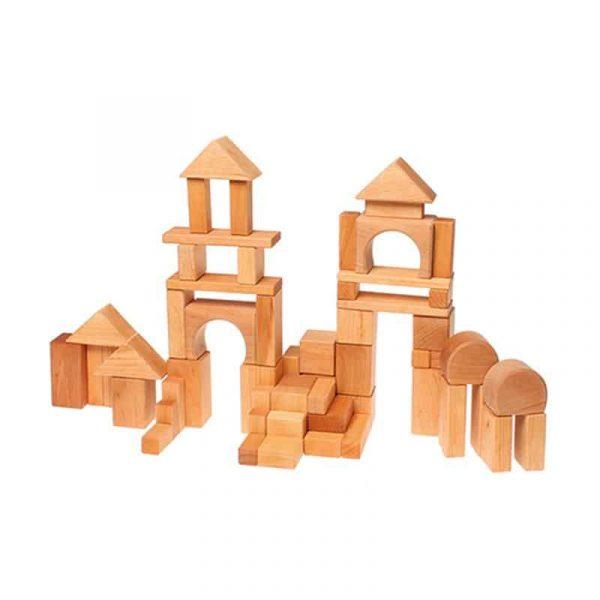Grimm's 60 piece Geo Block Set