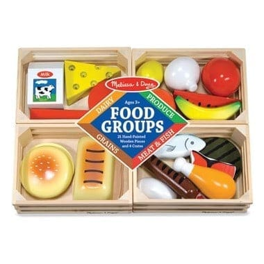 Wooden Food kids toy