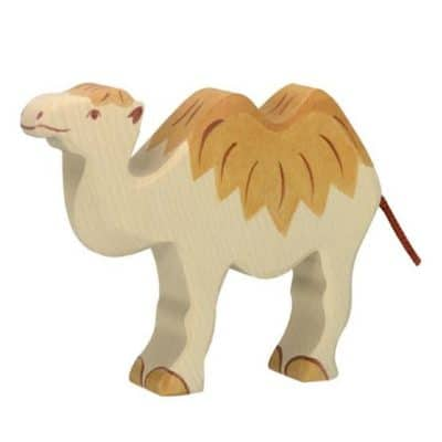 wooden animal toy camel