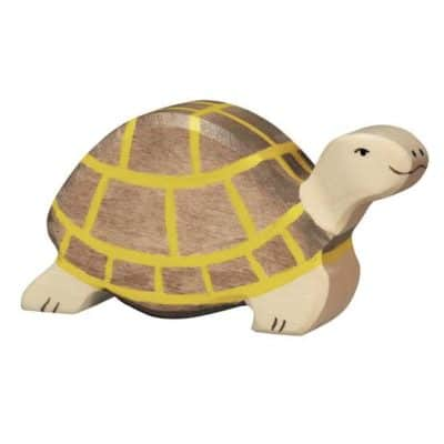wooden animal turtle