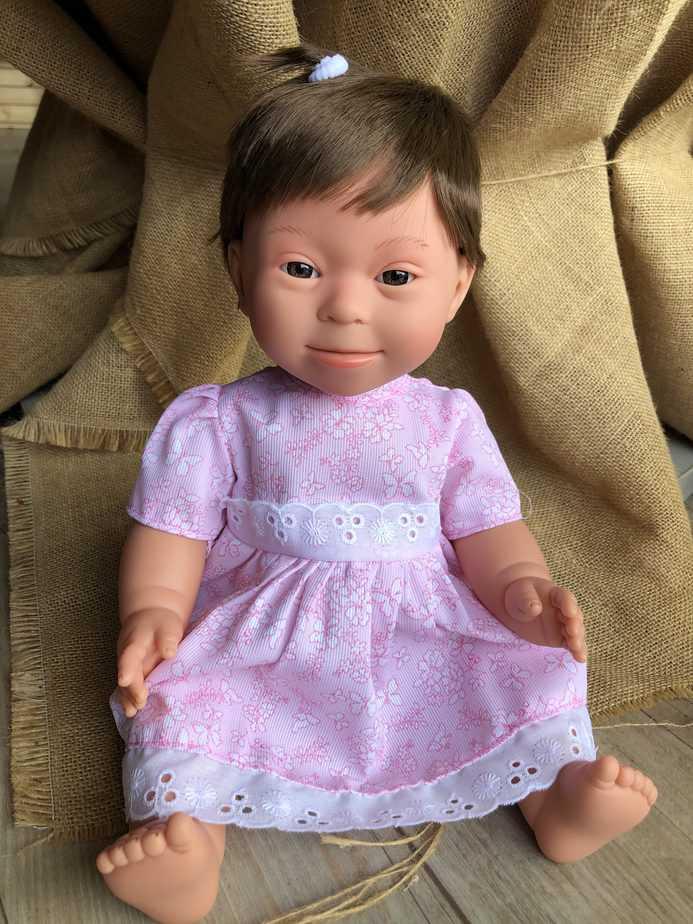Brunette girl Doll