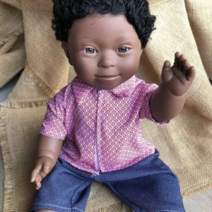 Brunette Boy Doll