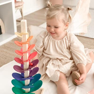 Musical Rainbow Marble Tree
