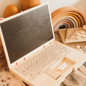 Wooden Play Laptop
