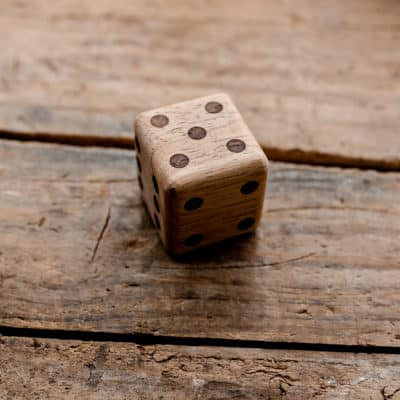Wooden Large Dice