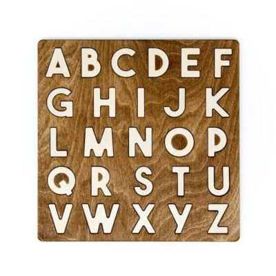 Uppercase Alphabet Puzzle for Montessori