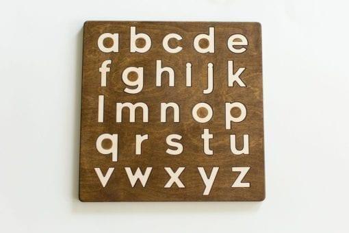 lowercase Alphabet Puzzle