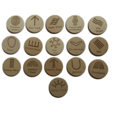 Wooden AUSLAN Alphabet Set