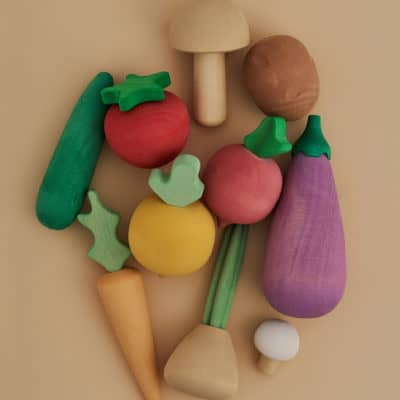toy vegetable set