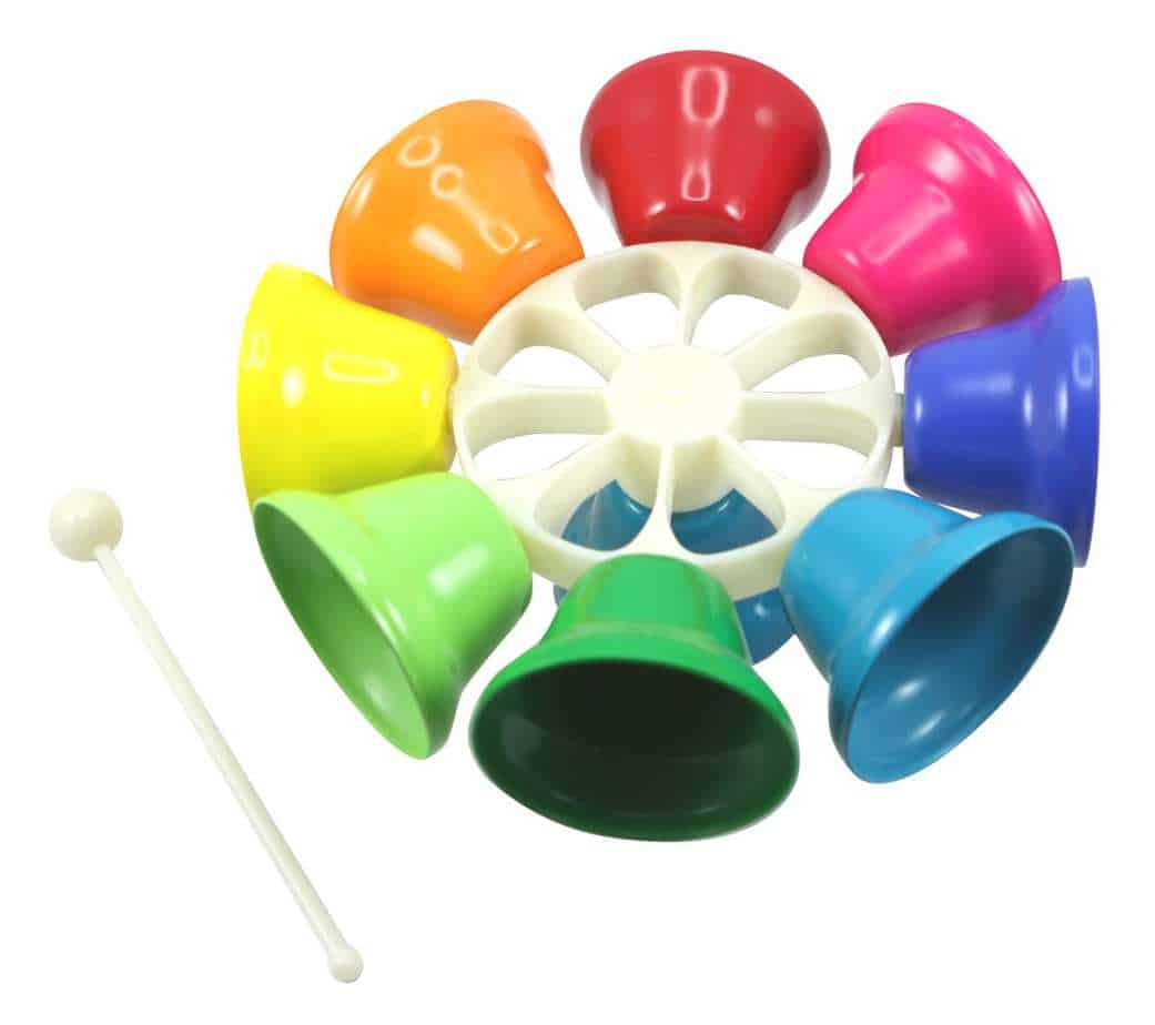 Colorful Spinning Bells