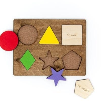 Shape & Puzzle Set