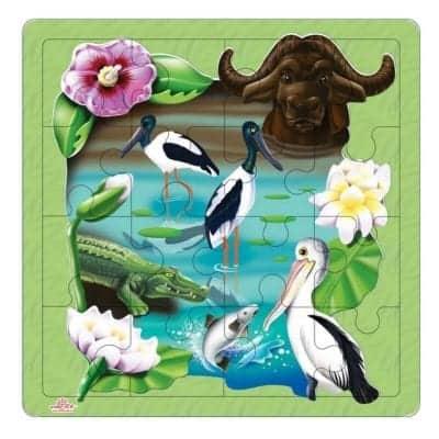 Kakadu Wetlands Puzzle