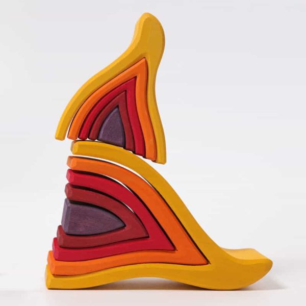 Grimm's Small fire wooden toy
