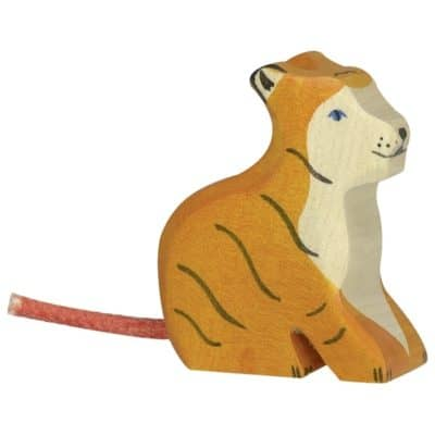 wooden Small Tiger