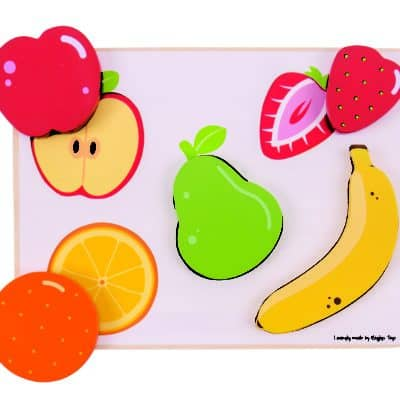 fruits puzzle for kids