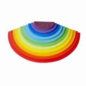 Semi Circles Rainbow coloured