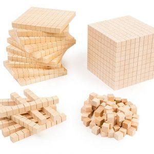 Wooden Base Ten Set