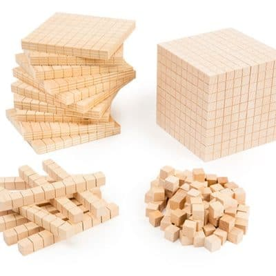 Wooden Base Ten Set
