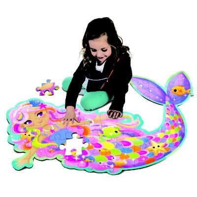 Magic Mermaid Floor Puzzle