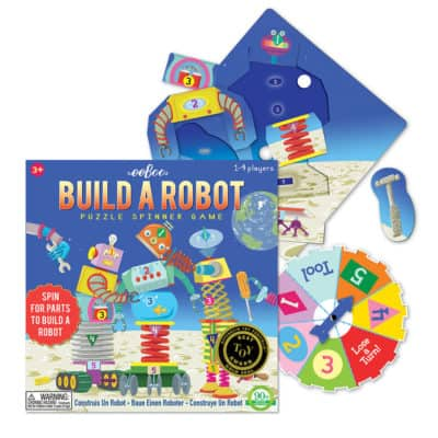 build a robort puzzle game