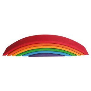 grimms wooden rainbow bridge