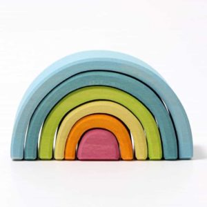 Grimm's Small Stacking Pastel Rainbow