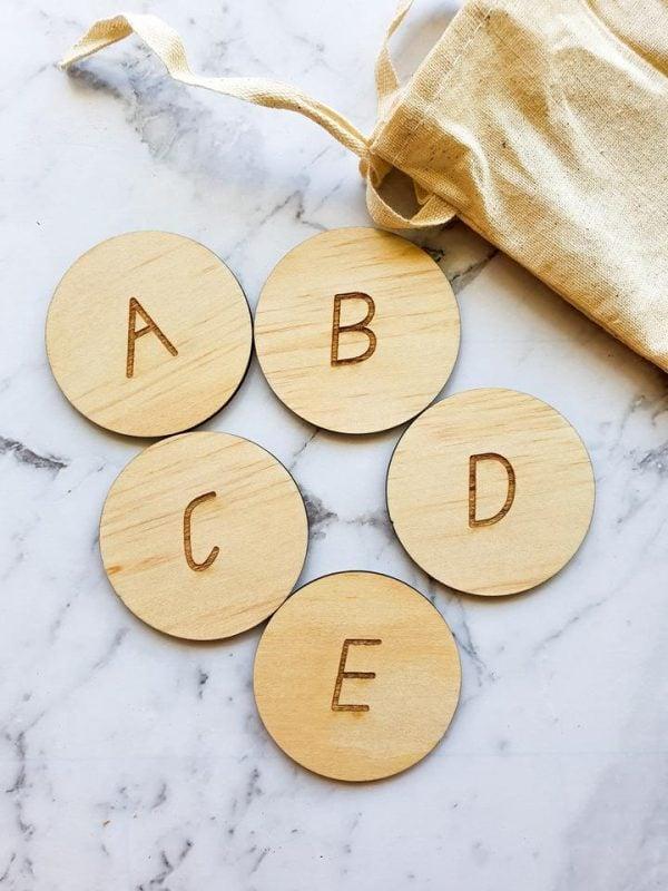 Alphabet Discs