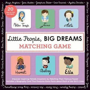 Little People, Big Dreams: Matching Game