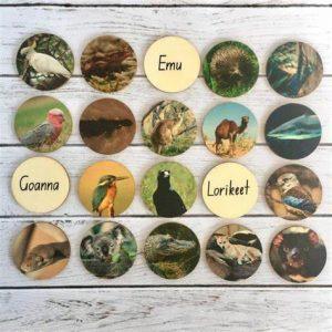 Animals of australia story teller discs