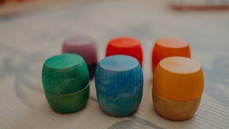 12 wooden bowls