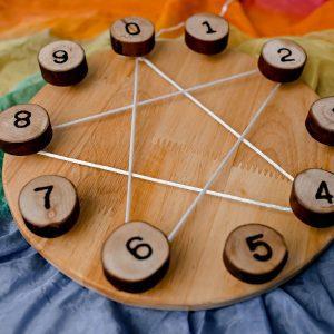 Steiner Learning Wheel - Qtoys