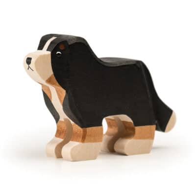 wooden Trauffer Bernese Mountain Dog